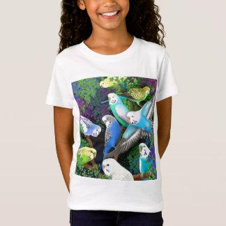 Het Baby van de Parkieten van Budgie en van de T Shirt