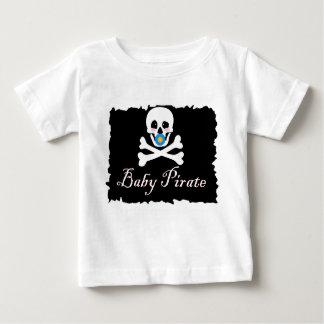 Het Baby van de Piraat van het baby/de T-shirt van