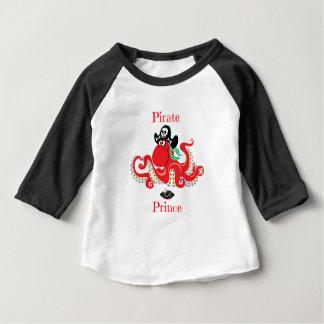 Het Baby van de Prins van de Piraat van de octopus Baby T Shirts