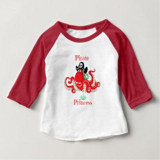 Het Baby van de Prinses van de Piraat van de Baby T Shirts
