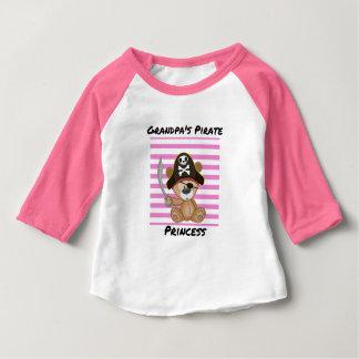 Het Baby van de Prinses van de Piraat van de opa Baby T Shirts