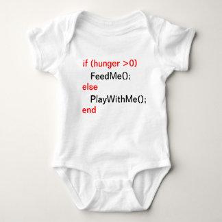Het baby van de programmeur (FeedMe, PlayWithMe) Romper