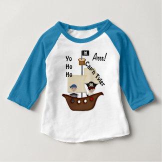Het Baby van de Schat van het Schip van de piraat Baby T Shirts