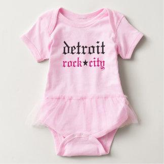 Het Baby van de Stad van de Rots van Detroit Romper