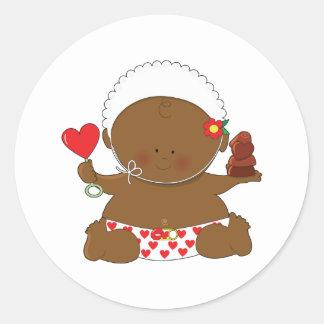 Het Baby van de vakantie Ronde Sticker