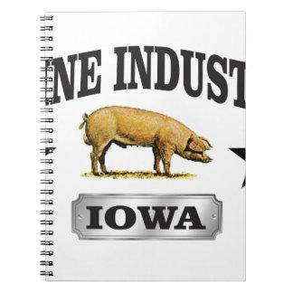 het baby van de varkensindustrie ringband notitieboek