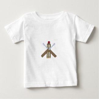Het Baby van de veenmol groeit Baby T Shirts