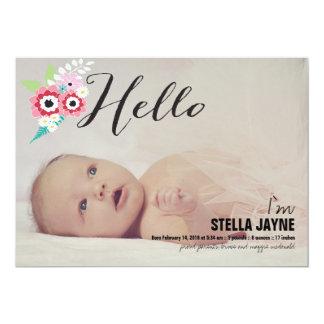 Het Baby van Hello   Aankondiging van het Baby