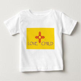 Het Baby van het Kind van de Liefde van New Mexico Baby T-shirt