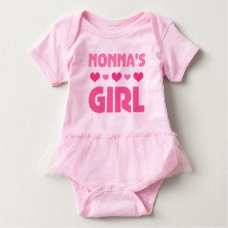 Het baby van het Meisje van Nonna draagt het Romper