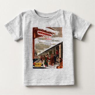 Het Baby van Kerstmis 1947 van de Spoorweg van New T-shirt