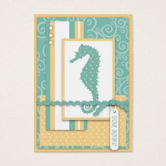 Het Baby van Seahorse dankt u Notecard Visitekaartjes