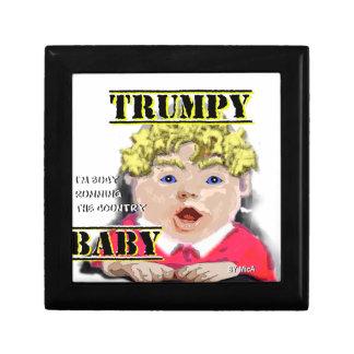 Het Baby van Trumpy - de Doos van de Gift Decoratiedoosje