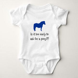 Het baby wil Pony Romper