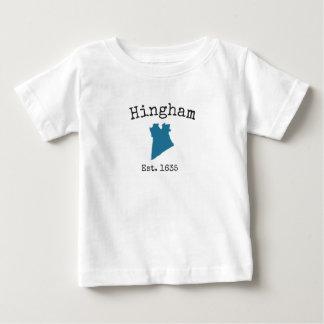 Het babyoverhemd van Massachusetts van Hingham Baby T Shirts