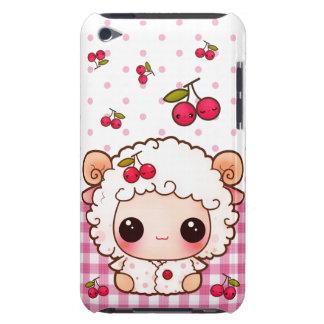 Het babyschapen van Kawaii en leuke kersen iPod Touch Hoesje