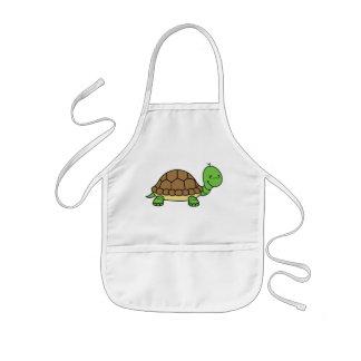 Het babyschort van de schildpad kinder schort