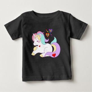 Het babyt-shirts, Harten en Eenhoorn van de Baby T Shirts