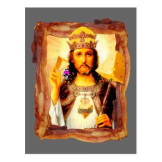 Het Bacon Christus van Cheesus Briefkaart
