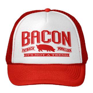 Het bacon het is de geen Petten van een Tendens