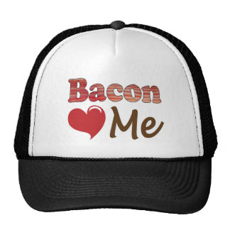 Het bacon houdt van me trucker cap