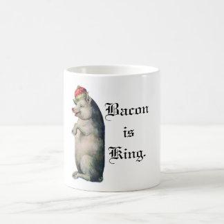 Het bacon is Koning Koffiemok