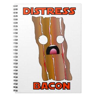 Het Bacon Swag van de nood Ringband Notitieboek