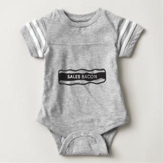 Het Bacon van de verkoop Baby Bodysuit