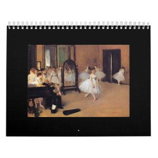 Het ballet in Kunst, de Kalender van de Dans van