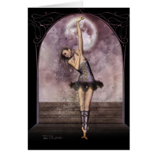 Het Ballet van de middernacht Wenskaarten