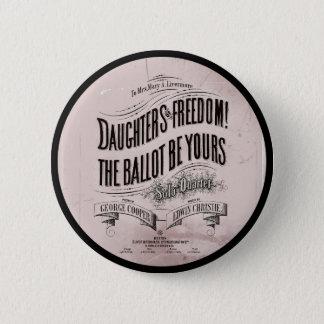 Het Ballet van de Vrijheid van dochters is van u Ronde Button 5,7 Cm
