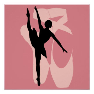 Het Ballet van Pointe Poster