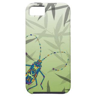 Het Bamboe van het insect verlaat Groen Uniek Tough iPhone 5 Hoesje