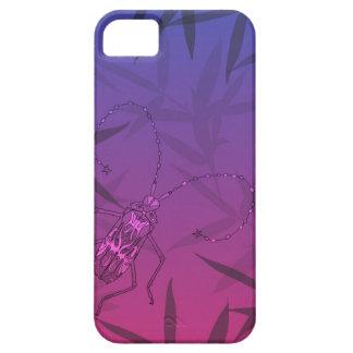Het Bamboe van het insect verlaat Roze en Blauw Barely There iPhone 5 Hoesje