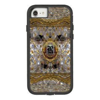Het Barokke Unieke Monogram van Mishya Case-Mate Tough Extreme iPhone 8/7 Hoesje