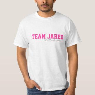 Het basis Wit van Jared T van het Team T Shirt
