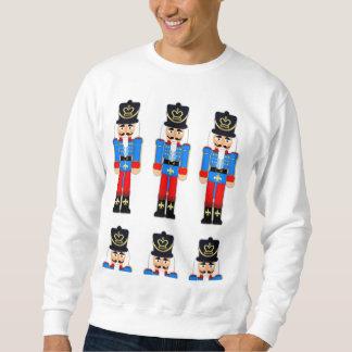 Het Basis Witte Sweatshirt van Kerstmis van de