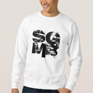 Het Basis Witte Sweatshirt van KruSkullz SGMB,