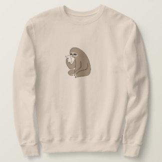 Het BasisSweatshirt van het Mannen van de luiaard Trui