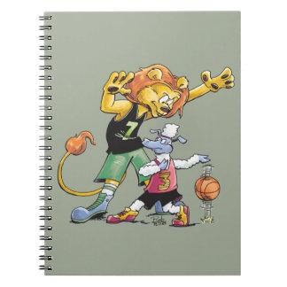 Het Basketbal van de leeuw en van Schapen Notitieboek