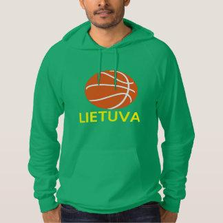 Het Basketbal van Litouwen Hoodie