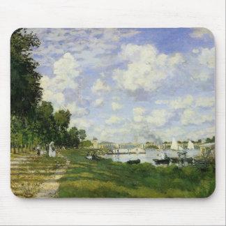 Het bassin in Argenteuil - Claude Monet Muismat