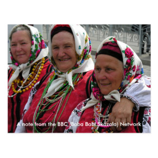 Het BBC - Baba Babi Skaza - Netwerk Briefkaart
