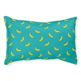Het Bed van de Hond van het Patroon van de banaan Hondenbedden