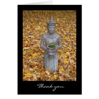 Het Bedankt van de herfst Wenskaart