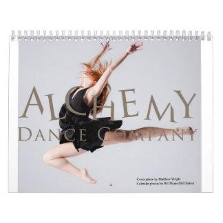Het Bedrijf van de Dans van de alchimie Kalender