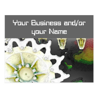 Het bedrijfs openen briefkaart