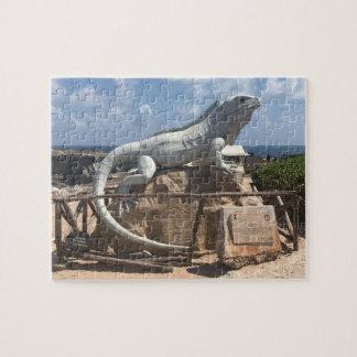 Het Beeldhouwwerk Isla Mujeres, de Puzzel van de Puzzel