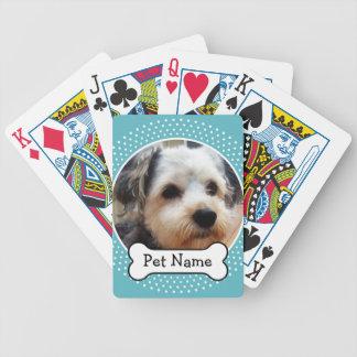 Het Been van de hond en het Blauwe Lijst van de Poker Kaarten