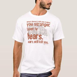 Het Beer van Snarky zal u doden T Shirt